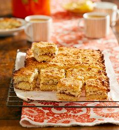 The wonderful strawberry slice gets a revamp with tropical-tasting coconut. Bake it for friends or just whip up and enjoy a piece yourself.