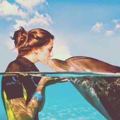 Swim with dolphins. #TakeChances #SummerResolutions