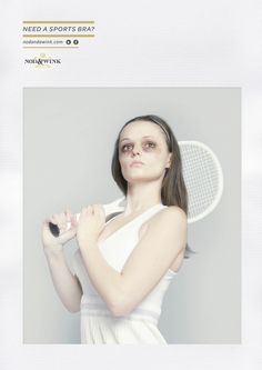 Need a sports bra? Bruised Eye Ads - The Nod and a Wink Campaign I always joke about this problem! Creative Advertising, Advertising Agency, Birmingham, Bruised Eye, Recruitment Advertising, Hirst, Print Ads, Print Poster, Cool Posters