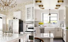 Glittering Inspiration: Mixing Silver and Gold in Your Interiors