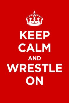 staying CALM is FAR from it watching my boys Wrestle ! Love the Sport!!