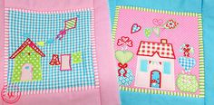 Little Village Quilt Block of the Month BOM 1 + 2