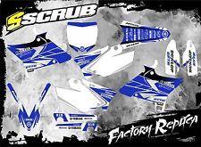 Yamaha graphics decals UFO RESTYLED kit YZ 125-250 2002 - 2014 SCRUB DESIGNZ
