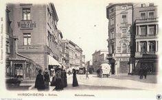 Skrzyżowanie ulic 1 Maja i Piłsudskiego na przełomie wieków 1 Maja, Berg, Painting, Pictures, Painting Art, Paintings, Painted Canvas, Drawings
