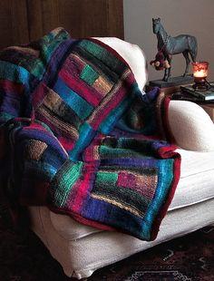 Ravelry: Stallarholmen Throw & Baby Blanket pattern by Cornelia Tuttle Hamilton