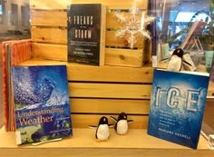Weather Display. 1/14. Display: Judy MacQueen. Photo: Sylvia Frost