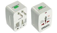 Universal International CE Adaptor Compact Unit Travel Power