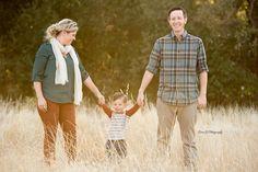 Family together outdoors - Redding CA Newborn Photographer - Dani D Photography