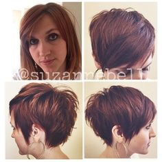 I want this. All of this, and I want it now. Another perfect pixie by @suzannebell and a gorgeous color by @jennykjenson