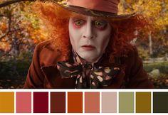 As paletas de cores do cinema