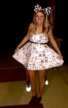 ABC Party, Anything But Clothes, Playing Card Dress, Halloween Costume