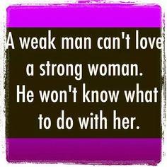 Weak man