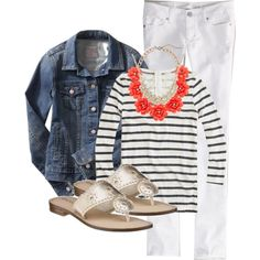 Wearing 7/5/2014 by my4boys on Polyvore featuring J.Crew, American Eagle Outfitters and Old Navy
