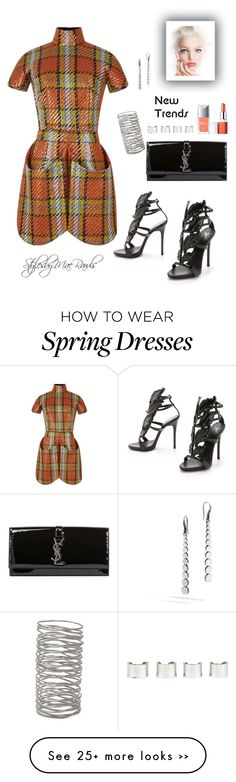 """Untitled #305"" by maerawlsfashionstyles on Polyvore featuring Emilia Wickstead, Giuseppe Zanotti, Yves Saint Laurent, John Hardy, Kelly Wearstler, Maison Margiela, Christian Dior and Clinique"