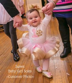 First Birthday Outfit Girl Pink and Gold First Birthday