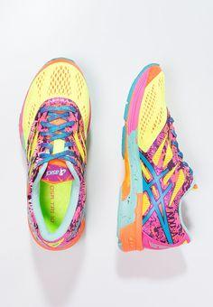 ASICS - GEL-NOOSA TRI 10 - Laufschuh Stabilität - flash yellow/turquoise/flash pink - 139,95 Gr.41,5