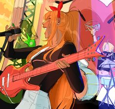 Powerpuff Girls Wallpaper, Ppg And Rrb, Fan Art, Girl Wallpaper, Cartoon Network, Aesthetic Pictures, Movies And Tv Shows, Art Girl, Illustrators
