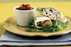 Chicken and #Avocado Tortilla #Wraps 15 Tortilla Wrap Recipes | All Yummy #Recipes