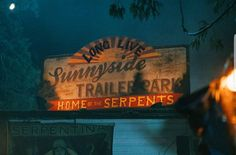 sunnyside trailer park home of the serpents Sweet 16 Parties, Archie Comics, Park Homes, Partners In Crime, No Time For Me, Instagram, Shag Carpet, Popup, Tv