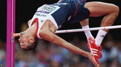 Robbie Grabarz won bronze in the London 2012 men's high jump final