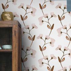 Designer Wallpaper Online Store for USA & Canada Modern Floral Wallpaper, Striped Wallpaper, Floral Wallpapers, Application Pattern, Wallpaper Online, Elle Decor, Designer Wallpaper, Modern Luxury, Wall Murals