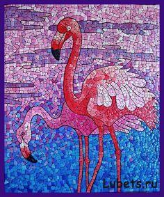 Мозаика. (из скорлупы) Мозаика — одно из самых древних искусств. Это способ создания изображения из маленьких элементов.