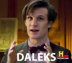"""I posted all these other """"alien meme"""" posts just so this one will be really funny. """"Im not saying it was Daleks, but..."""""""