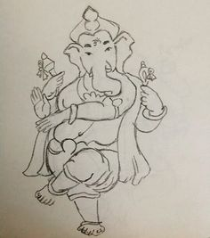 I love to doodle especially Ganesha. I'm always drawing some form of this deity. . #fmspad #fms_ilovedoingthis  #instaart #creative #art #instadaily #sketch