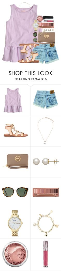 """""""rtd"""" by thefashionbyem ❤ liked on Polyvore featuring J.Crew, Rosetta Getty, Topshop, MICHAEL Michael Kors, Honora, Tory Burch, Urban Decay, Kate Spade and Bare Escentuals"""