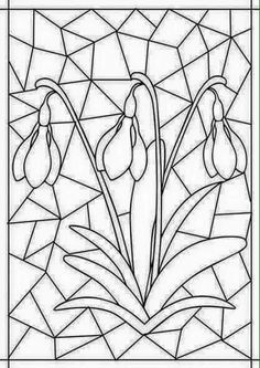 Best Picture For Mandala Art meaning For Your Taste You are looking for something, and Flower Coloring Pages, Colouring Pages, Adult Coloring Pages, Coloring Books, Stained Glass Patterns, Mosaic Patterns, Spring Art, Spring Crafts, Diy And Crafts
