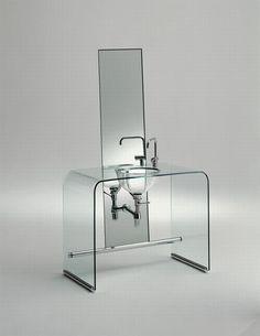 Coup De Foudre, wash-basins bath design line by Shiro Kuramata.