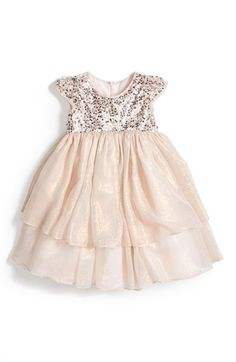 Pippa & Julie Pink Glitter Dress (Toddler Girls, Little Girls & Big Girls) available at #Nordstrom