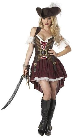Our selections of Sexy Pirate costumes are sure to turn heads. We have Sexy Buccaneer costumes, Sexy Pirate costumes, Sexy Wench costumes and more. Buy your Sexy Pirate costume from the costume authority at Halloween Express. Adult Pirate Costume, Pirate Cosplay, Pirate Halloween Costumes, Adult Halloween, Women Halloween, Adult Costumes, Halloween Party, Pirate Dress, Dog Costumes
