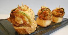 Con tu pan te lo comas: ROLLITOS DE CALABACÍN, JAMÓN Y QUESO