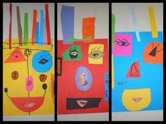 παιχνιδοκαμώματα στου νηπ/γειου τα δρώμενα: μάσκα ...... και Picasso !!!