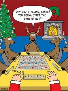 Holiday Single Panels - MetzgerCartoons.com