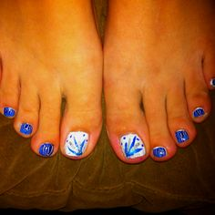 memorial day toenails