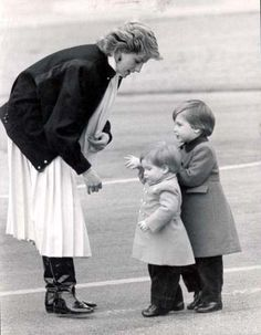 Our beloved Diana with her young boys...RIP. We all miss you so x