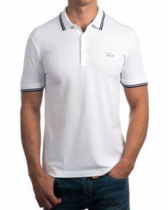 Polos Lacoste slim fit (corte ajustado) Polos Lacoste de manga corta Polos Lacoste de algodón 96%