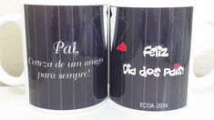 Caneca Personalizada Dia dos pais Beverages, Drinks, Coke, Coca Cola, Canning, Mugs, Tableware, Layout, Ceramic Mugs