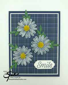 Daisy Lane on Plaid by StampinForMySanity - Cards and Paper Crafts at Splitcoaststampers Daisy Delight Stampin' Up, Smile Design, Friendship Cards, Stamping Up, Flower Cards, Stampin Up Cards, Your Cards, Paper Crafts, Card Crafts