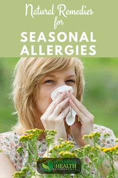Remedies For Sinus Seasonal allergies suck. They make you miserable. Symptoms include runny nose, itchy eyes, and sneezing. Medications can make you drowsy and have side effects. What are the top natural remedies for seasonal allergies? Read to find out. Arthritis Remedies, Headache Remedies, Sleep Remedies, Skin Care Remedies, Natural Treatment For Allergies, Natural Remedies For Allergies, Natural Treatments, Seasonal Allergy Remedies, Allergy Remedies For Kids