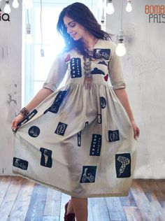 when you are in love with your things – Beauty Shares Stylish Dresses, Casual Dresses, Casual Frocks, Casual Wear, Short Dresses, Casual Outfits, Indian Attire, Indian Outfits, Kurta Designs