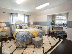 Our Competition...Team Jonathan: Master Bedroom, After - Brother Vs. Brother Season 2: Photo Highlights From Episode 4 on HGTV