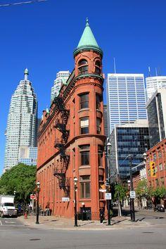 Flatiron Building - Toronto, Ontario - Photo