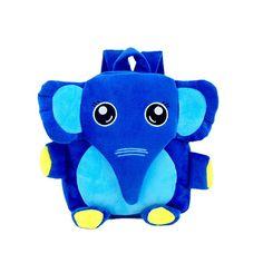 2016 Cartoon Kids School Bags Cute Elephant Dolls Applique Canvas Backpack Mini Baby Toddler Book Bag Kindergarten Rucksacks 746  #Happy4Sales #fashion #bag #shoulderbags #backpack #highschool #YLEY #handbags #bagshop #L09582 #kids