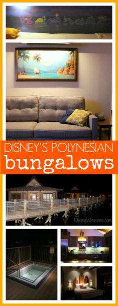 Walt Disney World's Polynesian Resort Bungalows Photo Tour + Fun Facts - Raising Whasians