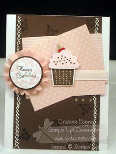 Cupcakes for Convention by Cristena - Cards and Paper Crafts at Splitcoaststampers