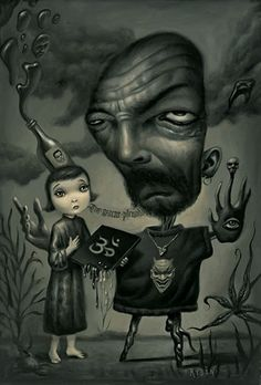 Mark Ryden - King of Pop Surrealism Mark Ryden, Arte Lowbrow, Psy Art, Eve Online, Mike Mignola, Surreal Art, Dark Art, Illustrations Posters, Cyberpunk