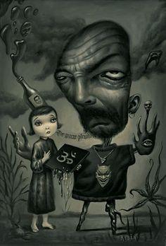 Mark Ryden - King of Pop Surrealism Mark Ryden, Art Pop, Arte Lowbrow, Art Et Illustration, Eve Online, Surreal Art, Mike Mignola, Dark Art, Illustrations Posters